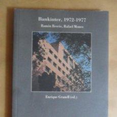 Libri di seconda mano: ARCHIVOS DE ARQUITECTURA, BANKINTER 1972-1977 -RAMON BESCOS/RAFAEL MONEO-ED. ENRIQUE GRANELL - 1994. Lote 263967820