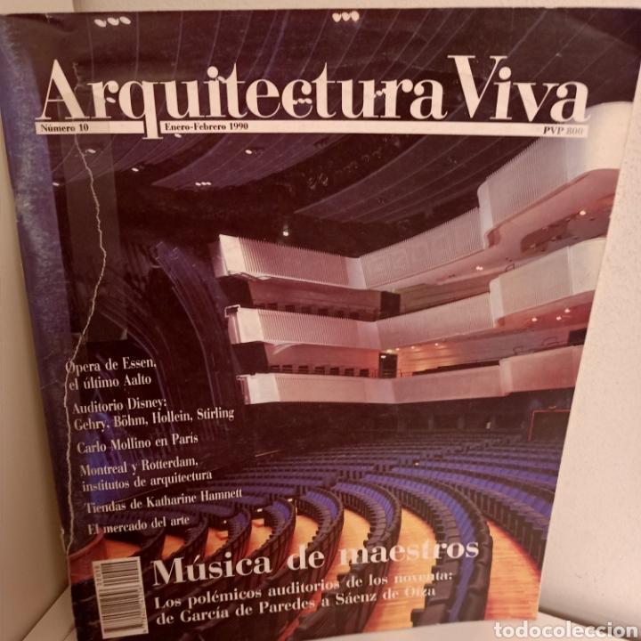 ARQUITECTURA VIVA Nº 10, MUSICA DE MAESTROS, ARQUITECTURA / ARCHITECTURE, ARQUITECTURA VIVA, 1990 (Libros de Segunda Mano - Bellas artes, ocio y coleccionismo - Arquitectura)