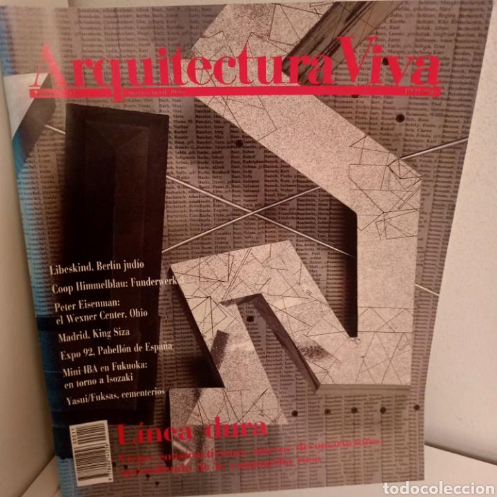 ARQUITECTURA VIVA Nº 11, LINEA DURA, ARQUITECTURA / ARCHITECTURE, ARQUITECTURA VIVA, 1990 (Libros de Segunda Mano - Bellas artes, ocio y coleccionismo - Arquitectura)