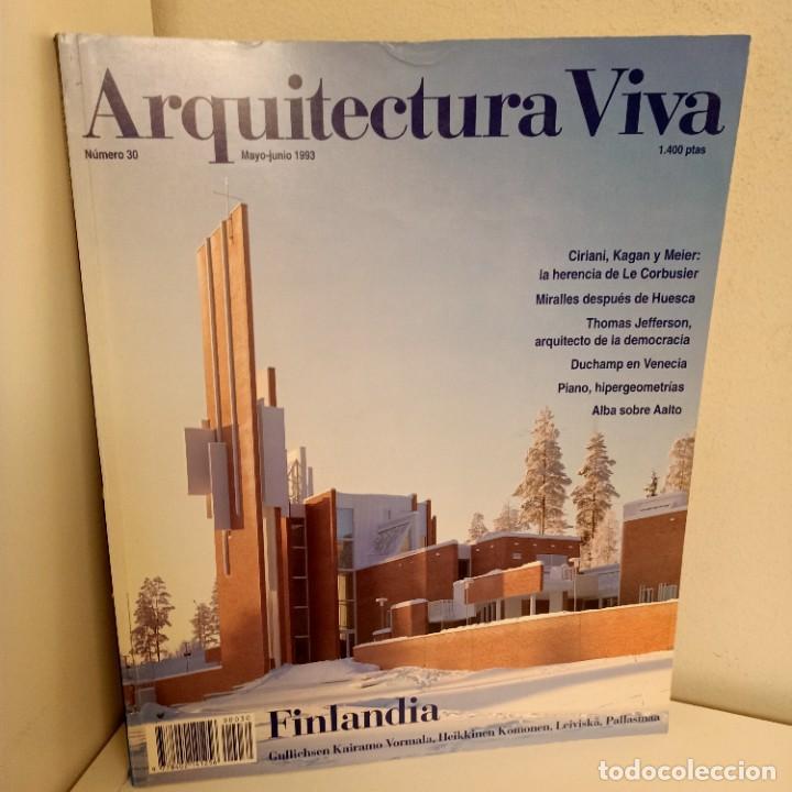 ARQUITECTURA VIVA Nº 30, FINDLANDIA, ARQUITECTURA / ARCHITECTURE, ARQUITECTURA VIVA, 1993 (Libros de Segunda Mano - Bellas artes, ocio y coleccionismo - Arquitectura)