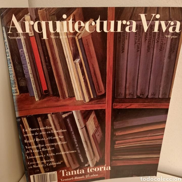 ARQUITECTURA VIVA Nº 18, TANTA TEORIA, ARQUITECTURA / ARCHITECTURE, ARQUITECTURA VIVA, 1991 (Libros de Segunda Mano - Bellas artes, ocio y coleccionismo - Arquitectura)