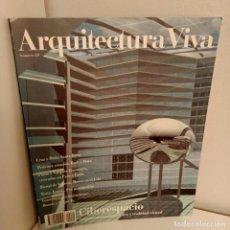 Libros de segunda mano: ARQUITECTURA VIVA Nº 20, CIBERESPACIO, ARQUITECTURA / ARCHITECTURE, ARQUITECTURA VIVA, 1991. Lote 269417243