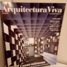 Libros de segunda mano: ARQUITECTURA VIVA Nº 102, CASAS EXTREMAS, ARQUITECTURA / ARCHITECTURE, ARQUITECTURA VIVA, 2005. Lote 269418763