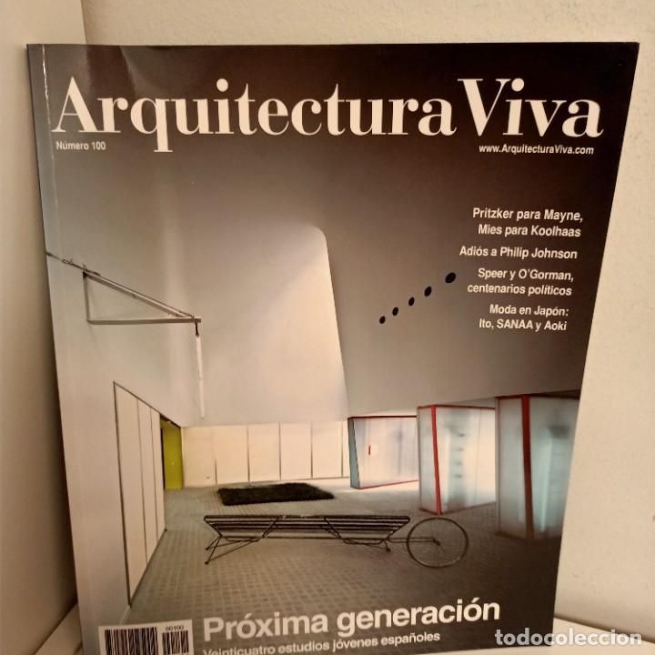 ARQUITECTURA VIVA Nº 100, PROXIMA GENERACION, ARQUITECTURA / ARCHITECTURE, ARQUITECTURA VIVA, 2005 (Libros de Segunda Mano - Bellas artes, ocio y coleccionismo - Arquitectura)