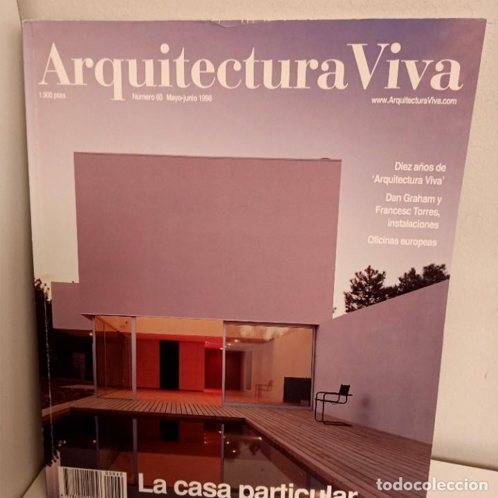 ARQUITECTURA VIVA Nº 60, LA CASA PARTICULAR, ARQUITECTURA / ARCHITECTURE, ARQUITECTURA VIVA, 1998 (Libros de Segunda Mano - Bellas artes, ocio y coleccionismo - Arquitectura)