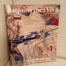Libros de segunda mano: ARQUITECTURA VIVA Nº 53, FORMAS DEL PAISAJE, ARQUITECTURA / ARCHITECTURE, ARQUITECTURA VIVA, 1997. Lote 269419828