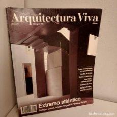 Libros de segunda mano: ARQUITECTURA VIVA Nº 43, EXTREMO ATLANTICO, ARQUITECTURA / ARCHITECTURE, ARQUITECTURA VIVA, 1995. Lote 269420038