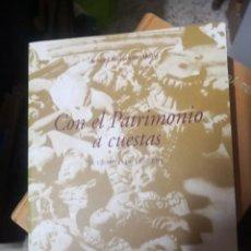 Libros de segunda mano: CON EL PATRIMONIO A CUESTAS. ADRIÁN ALEMÁN DE ARMAS. Lote 269753898