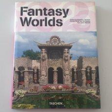 Libros de segunda mano: LIBRO FANTASY WORLDS (TASCHEN, 2007) ARQUITECTURA URBANA. Lote 273130073