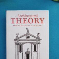 Libros de segunda mano: ARCHITECTURAL THEORY - TASCHEN. Lote 273166118