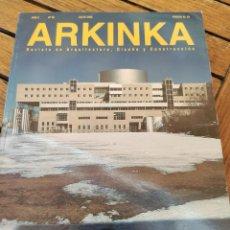 Libros de segunda mano: ARKINKA. REVISTA DE ARQUITECTURA, DISEÑO Y CONSTRUCCIÓN. DAN HANGANU. ROBERT WILSON. VER INDICE.. Lote 277522468