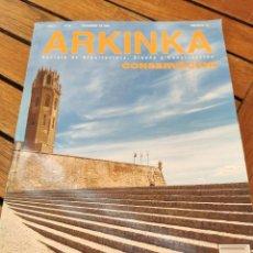 Libros de segunda mano: ARKINKA. REVISTA DE ARQUITECTURA, DISEÑO Y CONSTRUCCIÓN. CONSERVACIÓN. VER INDICE.. Lote 277523258
