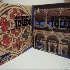 Libros de segunda mano: ARQUITECTURAS DE TOLEDO. 2 TOMOS Y ESTUCHE. Lote 280105883