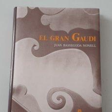 Libros de segunda mano: LIBRO EL GRAN GAUDI DE JUAN BASSEGODA NONELL (AUSA, 1989) NUEVO 1° EDICION. Lote 284741573