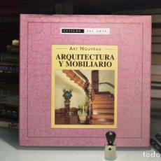 Libros de segunda mano: ART NOUVEAU. ARQUITECTURA Y MOBILIARIO, 1999- EDITA EDIMAT LIBROS, S.A. Lote 288094033
