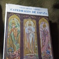 Libros de segunda mano: CATEDRALES DE ESPAÑA. SARTHOU. ESPASA-CALPE. 1952.. Lote 288095203