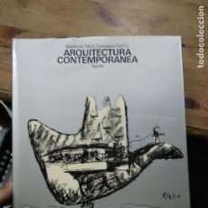 Libros de segunda mano: ARQUITECTURA CONTEMPORÁNEA, MANFREDO TAFURI Y FRANCESCO DAL CO. ART.548-1178. Lote 288558493