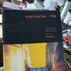 Libros de segunda mano: REVISTA ARQUITECTOS Nº 136. ARQ-174. Lote 289414338
