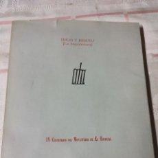 Libros de segunda mano: IDEAS Y DISEÑO LA ARQUITECTURA IV CENTENARIO DEL MONASTERIO DE EL ESCORIAL. Lote 289560563