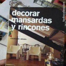 Libros de segunda mano: DECORAR MANSARDAS Y RINCONES. ARQ-500. Lote 293794008