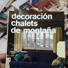 Libros de segunda mano: DECORACIÓN CHALETS DE MONTAÑA. ARQ-501. Lote 293794223