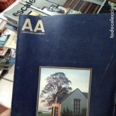 Libros de segunda mano: REVISTA AA ARQUITECTURA Nº 206. EN FRANCÉS. ARQ-503. Lote 293794543