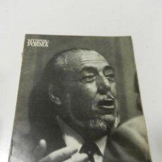 Libros de segunda mano: NUEVA FORMA Nº 53 AÑO 1970 REVISTA ARQUITECTURA HOMENAJE A CARLOS DE MIGUEL. Lote 295858293