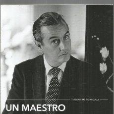 Livros em segunda mão: UN MAESTRO DE ARQUITECTOS EN BARCELONA. CONVERSACIONES CON FEDERICO CORREA. TUSQUETS. Lote 295897153