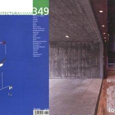 Libros de segunda mano: REVISTA ARQUITECTURA COAM Nº 349 TERCER TRIMESTRE 2007. Lote 297075848
