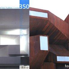 Libros de segunda mano: REVISTA ARQUITECTURA COAM Nº 350 CUARTO TRIMESTRE 2007. Lote 297076033