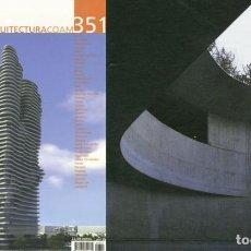 Libros de segunda mano: REVISTA ARQUITECTURA COAM Nº 351 PRIMER TRIMESTRE 2008. Lote 297076498