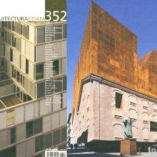 Libros de segunda mano: REVISTA ARQUITECTURA COAM Nº 352 SEGUNDO TRIMESTRE 2008. Lote 297076773