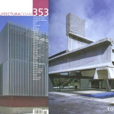 Libros de segunda mano: REVISTA ARQUITECTURA COAM Nº 353 TERCER TRIMESTRE 2008. Lote 297077118
