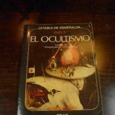 Libros de segunda mano - El ocultismo. tabla esmeralda, esoterismo, EDAF, 1975 - 16632127