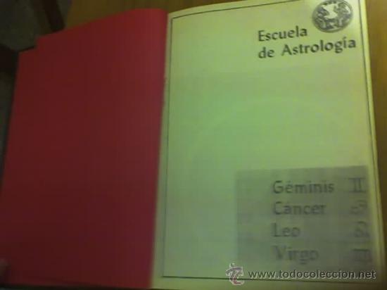 Libros de segunda mano: ESCUELA DE ASTROLOGIA (TOMO1) - RARO!!! - Foto 3 - 31987759