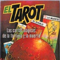 Libros de segunda mano: EL TAROT. LAS CARTAS MAGICAS DE LA FORTUNA Y LA MUERTE. JOSS IRISCH. 21 X 14 CM. 362 PAGINAS.. Lote 20552612