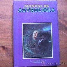 Libros de segunda mano: MANUAL DE ASTROLOGIA, RENE FLEURY, IBERLIBRO, 1990. Lote 20772937