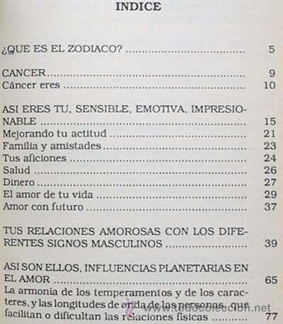 Libros de segunda mano: CÁNCER - TU HORÓSCOPO Y EL AMOR - DESCUBRE TU PAREJA IDEAL A TRAVÉS DE LOS ASTROS - Foto 2 - 27437080
