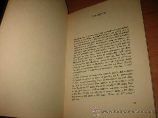 Libros de segunda mano: INTRODUCCION A LA ASTROLOGIA ALBERTO PAOLI EDIT.DE VECCHI 1977 - Foto 2 - 28479636