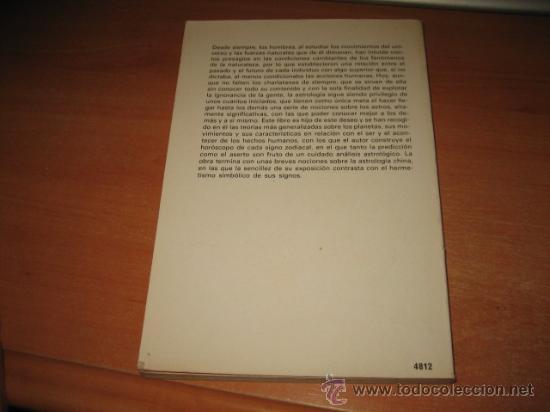 Libros de segunda mano: INTRODUCCION A LA ASTROLOGIA ALBERTO PAOLI EDIT.DE VECCHI 1977 - Foto 3 - 28479636