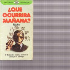 Libros de segunda mano - REALISMO FANTASTICO n1 ¿Qué ocurrirá mañana? Hadès Plaza Janes 1976 - 28595435