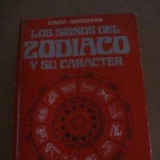 Libros de segunda mano: LOS SIGNOS DEL ZODIACO Y SU CARACTER.. Lote 32263231