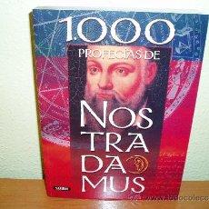 Libros de segunda mano - LIBRO 1000 PROFECIAS DE NOSTRADAMUS - 34244378