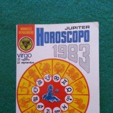 Libros de segunda mano: HOROSCOPO 1983 VIRGO DE EDICIONES ALONSO. Lote 36255928
