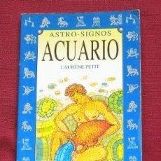Libros de segunda mano: ACUARIO - ASTRO - LIBRO. Lote 38949083