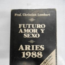 Libros de segunda mano: FUTURO AMOR Y SEXO. ARIES 1988. CHRISTIAN LOMBART. TDK177. Lote 42519686