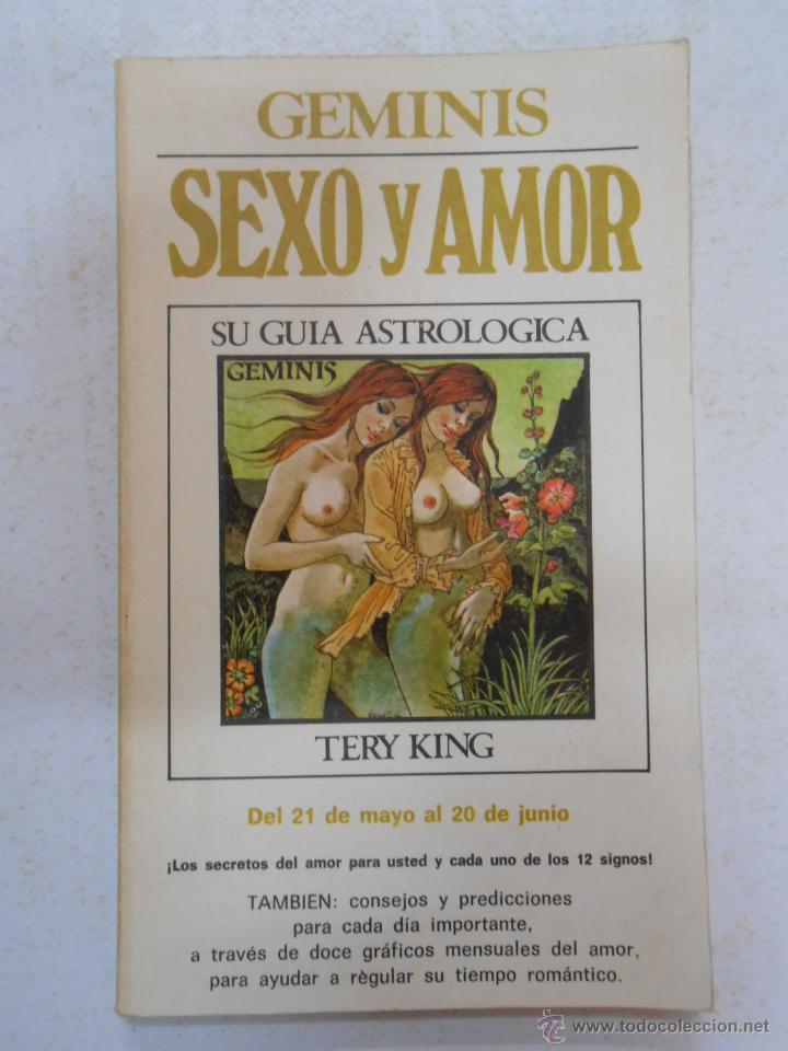 SEXO Y AMOR. GÉMINIS - KING, TERY. TDK185 (Libros de Segunda Mano - Parapsicología y Esoterismo - Astrología)
