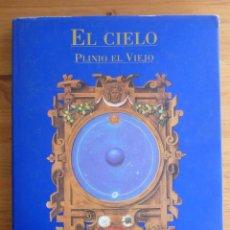 Libros de segunda mano: EL CIELO. PLINIO EL VIEJO. SIRUELA. 2000 182 PAG. Lote 56293658