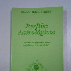 Libros de segunda mano: PERFILES ASTROLÓGICOS. BLANCA HDEZ. LUPIÓN. TDK212. Lote 46487680