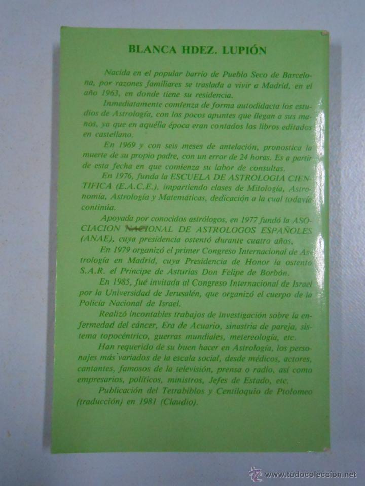 Libros de segunda mano: Perfiles astrológicos. Blanca Hdez. Lupión. TDK212 - Foto 2 - 46487680